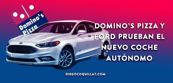 Domino's Pizza y Ford prueban el nuevo coche autónomo de reparto de comida a domicilio En las próximas semanas, aquellos clientes de Domino's que hayan sido seleccionados al azar en Michigan, tendrán la oportunidad de recibir en la puerta de su casa, una pizza traída por un vehículo autónomo de investigación, el Ford Fusion Hybrid. Esto forma parte de una fase de pruebas que están realizando ambas compañías, para poner a sus coches autónomos a repartir por las calles mucho antes de lo que…