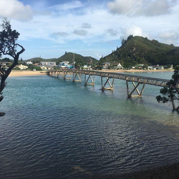Pataua foot bridge