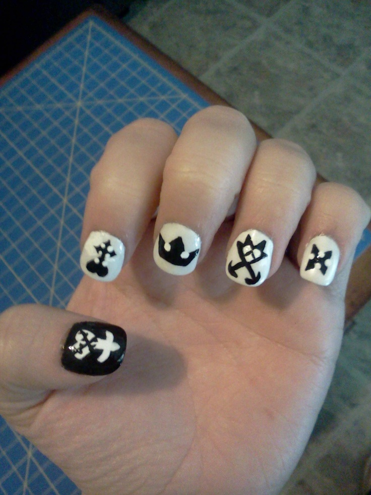 13 best nails kingdom hearts images on Pinterest | Kingdom hearts ...