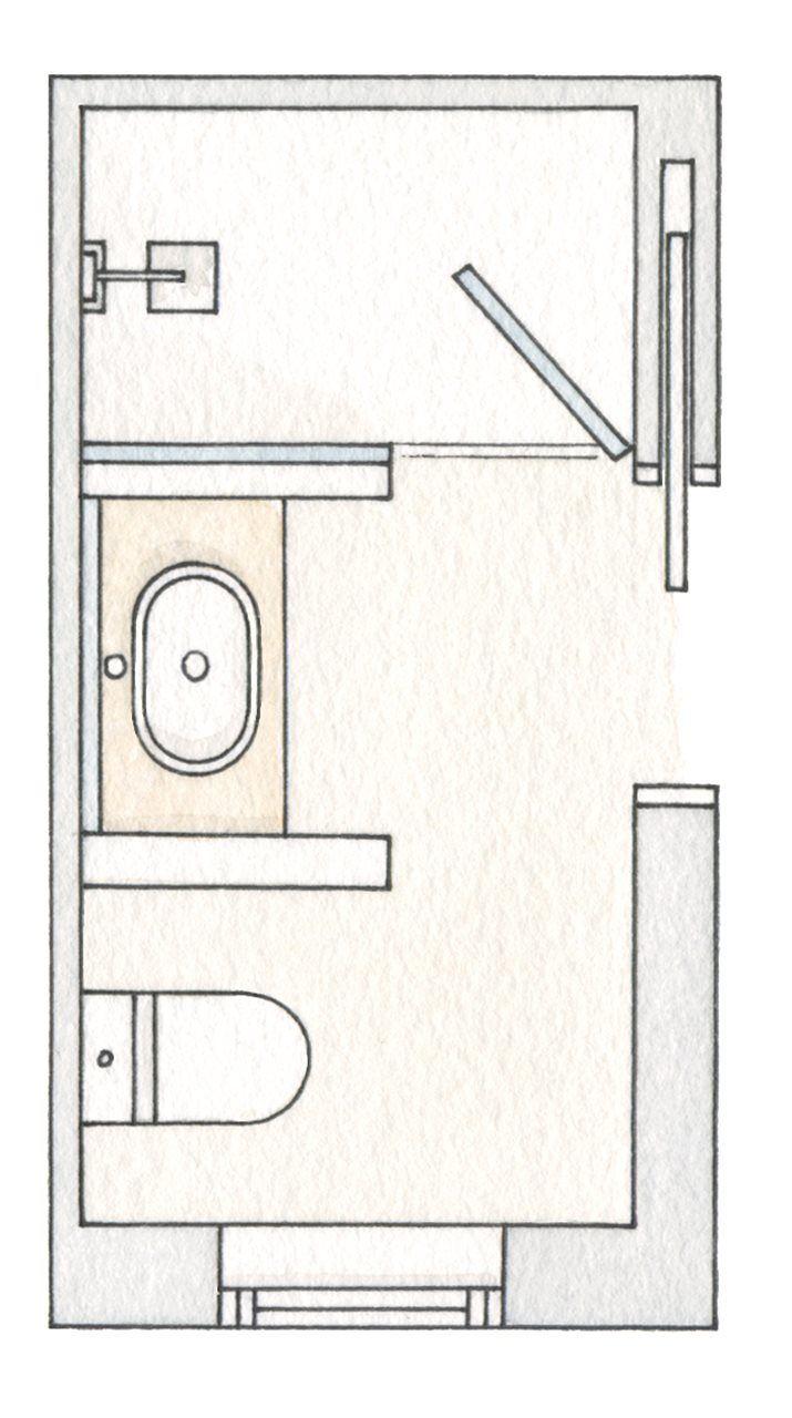 M s de 25 ideas incre bles sobre duchas de ba o en pinterest for Distribucion de banos pequenos