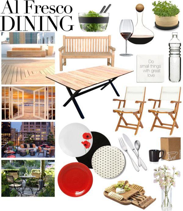 """Al Fresco Dining"" by taci42 on Polyvore"
