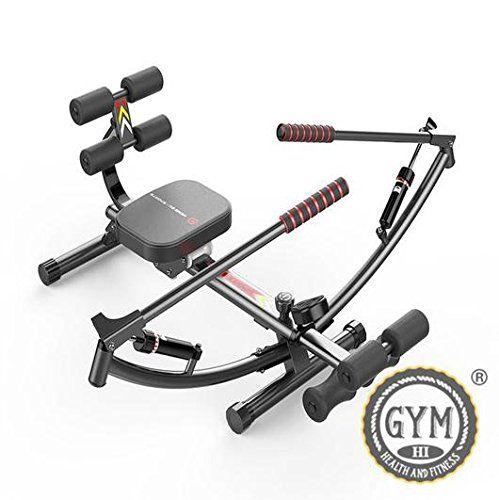 cool Ejercicio equipos gimnasio máquina de remo remero Glider entrenamiento Fitness Play