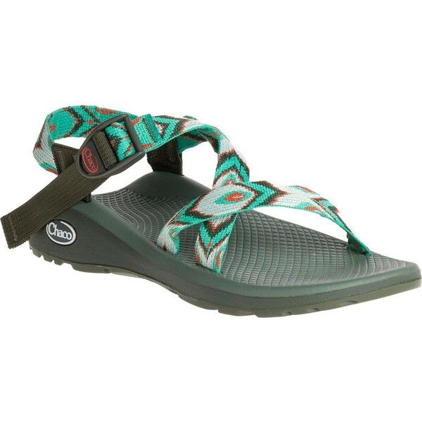 Chaco Z/Cloud Sandal ($110) ❤ liked on Polyvore featuring shoes, sandals, chaco, chaco shoes, chaco sandals, adjustable shoes and chaco footwear
