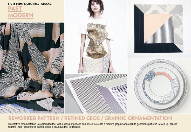 WGSN SS 16 Print & Graphic Forecast - PAST MODERN
