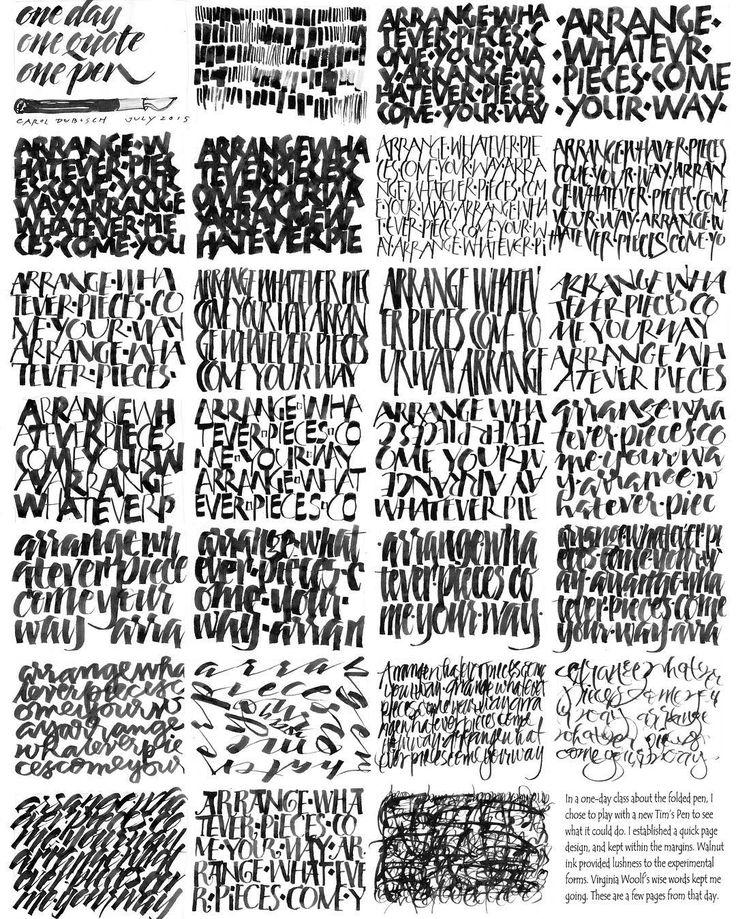 61 besten Lettering (latin) calligraphy Bilder auf Pinterest ...