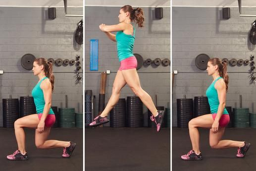 10 No Gym Plyometric Moves For Explosive Strength Lunges
