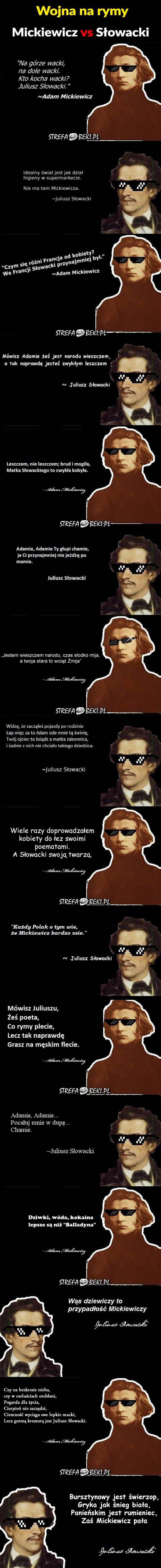 Mickiewicz vs Słowacki