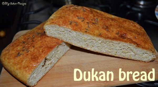 Dukan bread | DUKAN DIET RECIPES