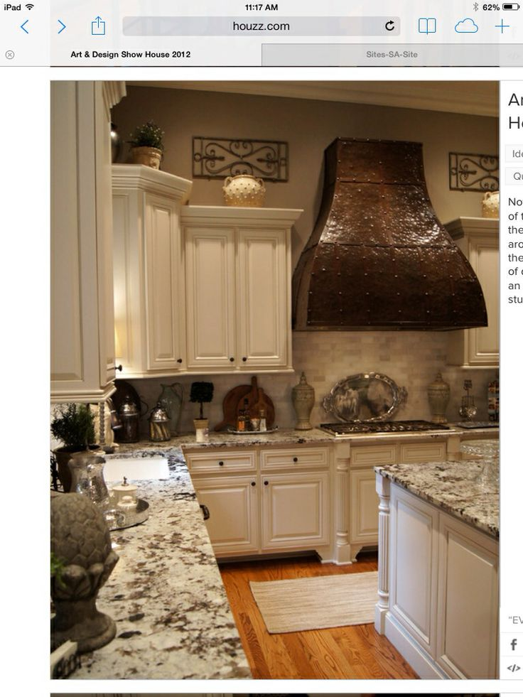 Hammered Copper Colored Range Hood Love Love Kitchen