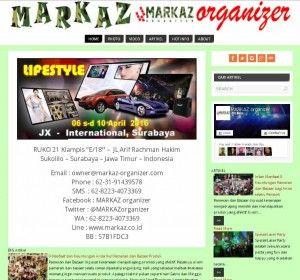Company Profile Website | MARKAZ organizer Surabaya Jasa Pembuatan Website RIRISACI Surabaya   Telp: 031 8477461 HP. 085748226395 dan 085100552565 Email: admin@ririsaci.com  CV. RIRISACI MEDIA Solusi Bisnis Anda Menuju Online
