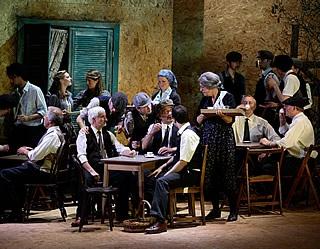 scene from Cavalleria Rusticana - Dorset Opera