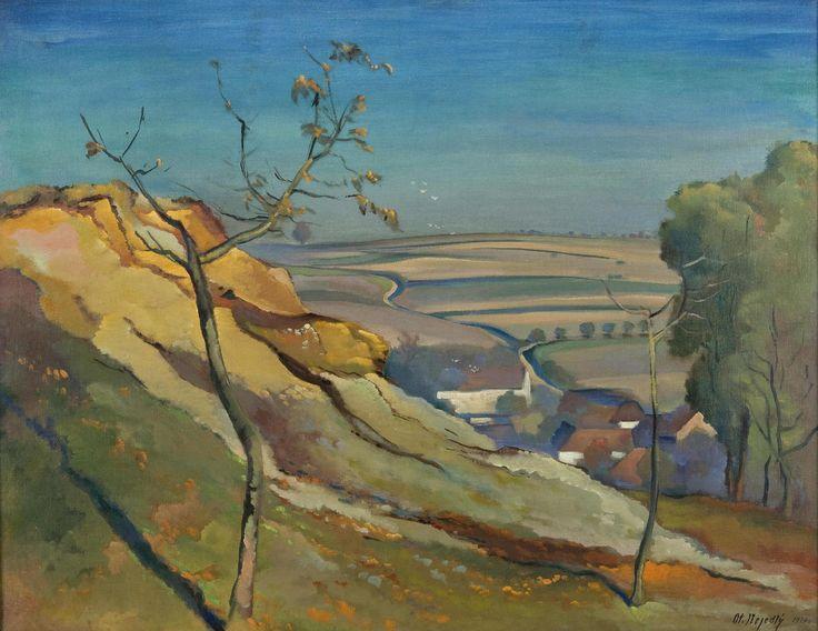 OTAKAR NEJEDLÝ (1883 - 1957) | Jílové – Willage, 1920