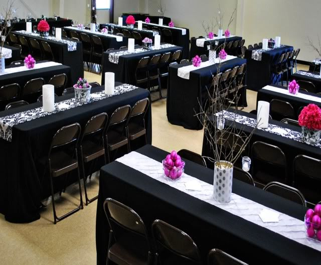 Decorations Tips Black Red White Purple Diy Wedding Reception Ideas DIY Keep The Budget Under Control