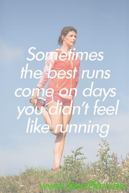 Motiveer jezelf! Of laat je motiveren door Evy tijdens een looptraining in de Start 2  Run app. Tijdens de training krijg je tips over een gezonde levensstijl #motivation #quote #start2run