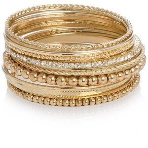 Golden Stack Bracelets