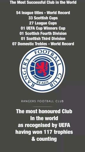 Rangers. We Welcome The Chase