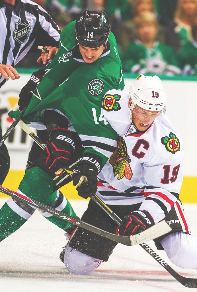 Jonathan Toews & Jamie Benn Captain vs. Captain