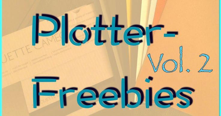 Liste mit Plotterfreebies, freie Schnittdateien für den Plotter