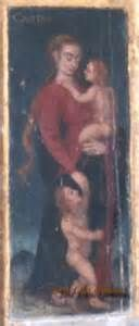 Mary Magdalene with twin children.