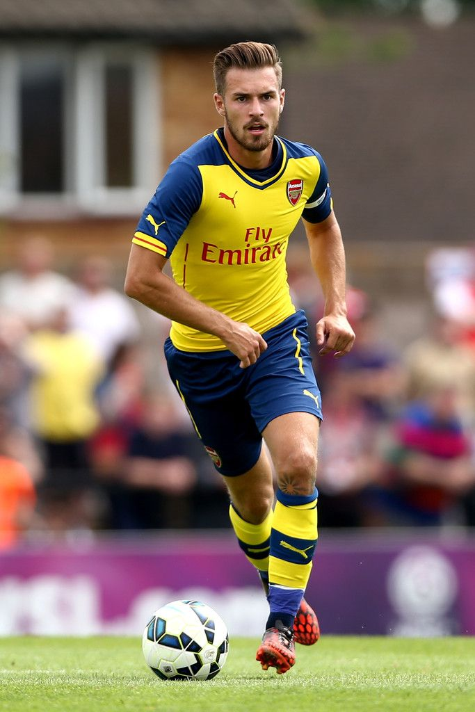 Aaron Ramsey on Arsenal first pre-season match. Boreham Wood 0-2 Arsenal (July 2014)