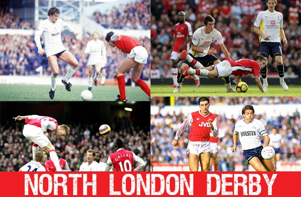 Famous north london derby, featuring Arsenal and Tottenham