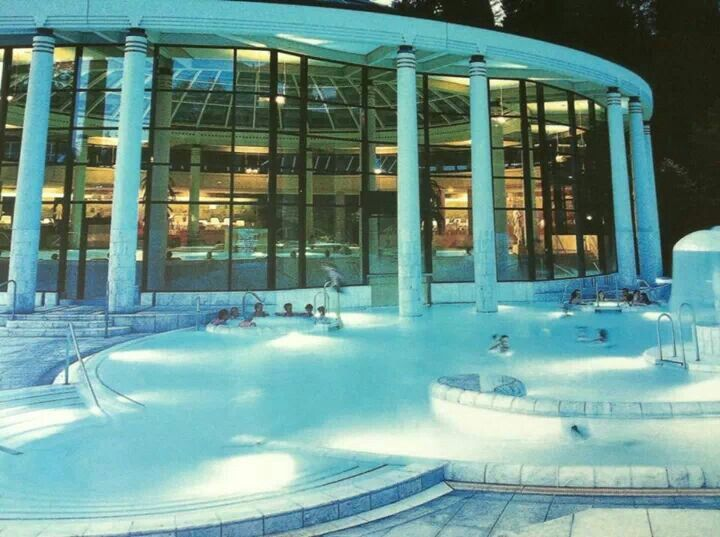 Caracalla Therme in baden baden #Germany