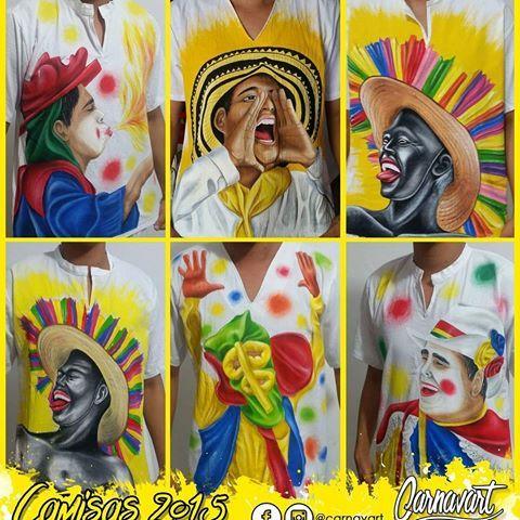 Recordando algunos motivos pintados en el año 2015 ¡Pinta carnavalera!  #Carnavart #Barranquilla #BarranquillaLovers #Curramba #Quilla #LaArenosa #ArteColombiano #Colombia #Colombian #Colombiarte #Artes #Arte #HechoAMano #HechoEnColombia #PintadoAMano #CamisasDeCarnaval #PintaCarnavalera #CamisasPersonalizadas #CarnavalDeBarranquilla #MadeInColombia #Marimonda #Marimondas #BarranquillaColombia #SomosCarnaval #quienloviveesquienlogoza