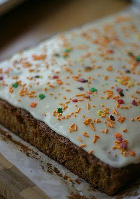 Gresskarkake(Pumpkin cake)