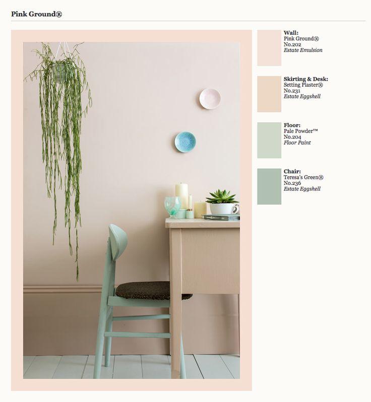 Farrow & Ball Pink Ground, Maison Brisset Magazine