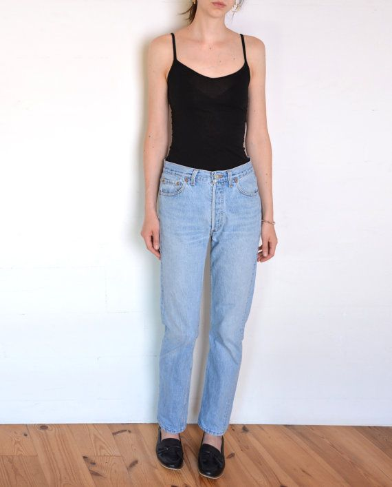 90's Levi's 501 boyfriend pants highwaisted by WoodhouseStudios