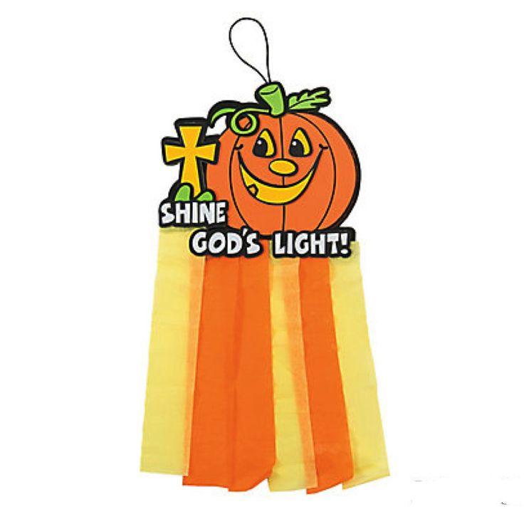 Check this out on our store  Shine God's Light Christian Pumpkin Mobile Craft Kit Check it out here! [product-url