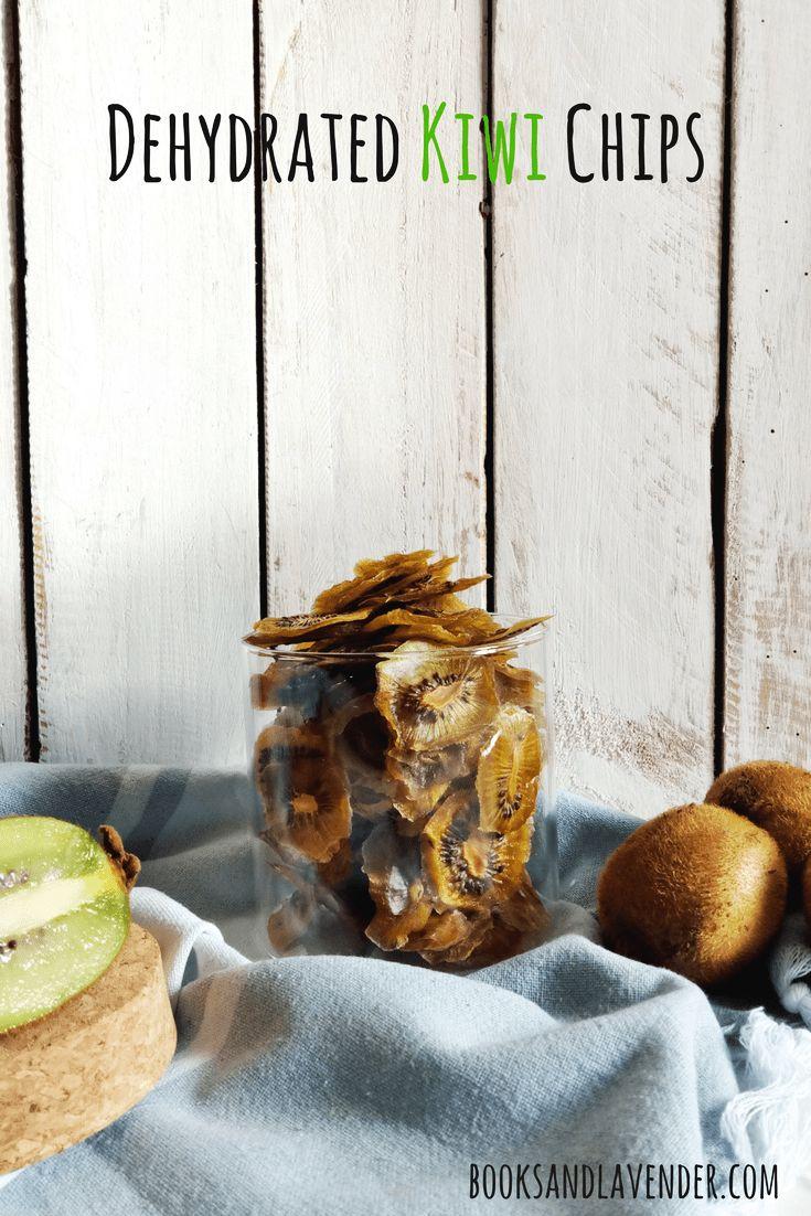 Dehydrated Kiwi Chips #healthysnacks #driedfruit #dehydrate #snackideas