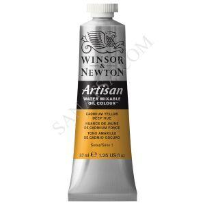 Winsor & Newton Artisan Su ile Karışabilen Yağlı Boya 115 Cadmium Yellow Deep Hue