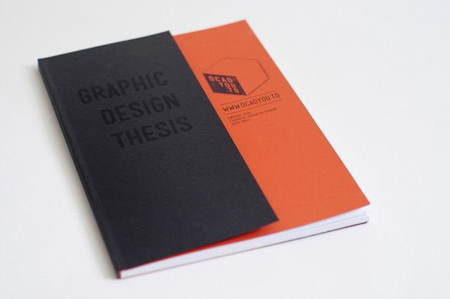 Thesis graphic design