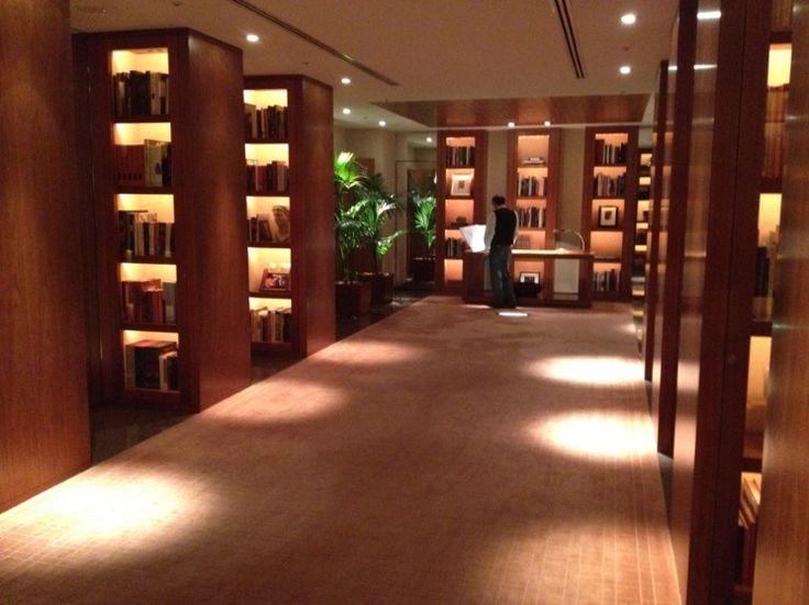 Park Hyatt Tokyo:パークハイアット東京 library:ライブラリー