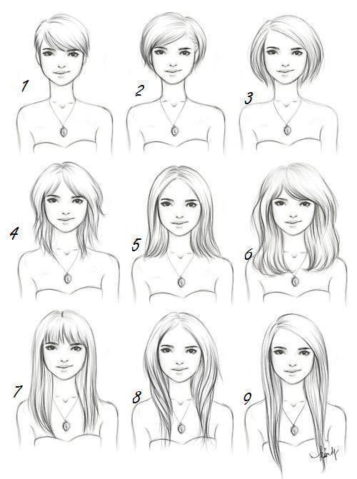 Drawing Hair Drawing Ideas Cortes De Cabello Corto Cortes De