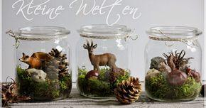 """Zu den verschiedenen Jahreszeiten gibt es bei uns oft dazu passend eine oder mehrere """"kleine Welten"""" zu bestaunen. Heute möchte ich euch un..."""