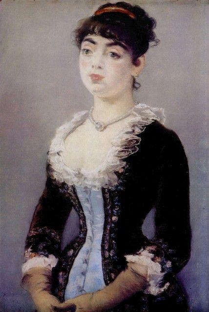 Edouard Manet - Portrait de Mme Lévy 1882