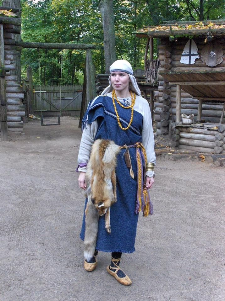 Livonian lady, Russia.
