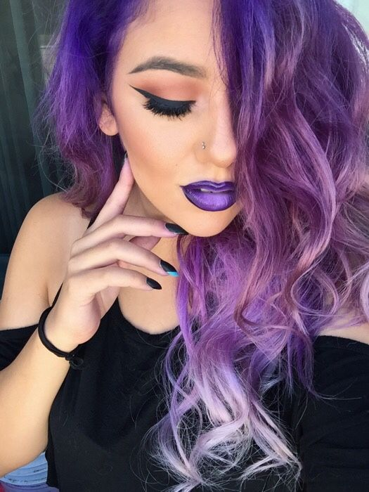 gothic hair styles 12 best black white and purple hair images on 5995 | f825936e5995e1f54c4730701f867072 purple ombre purple hair