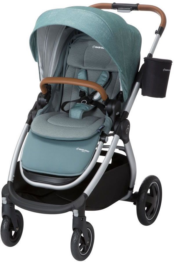 Maxi-cosi Adorra Travel System - Graphic Flower Maxi Cosi Adorra Stroller Nomad Green Baby Strollers