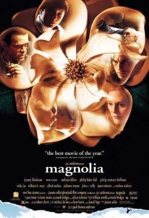 Magnolia is a 1999 American drama film written, produced, and directed by Paul Thomas Anderson, narrated by Ricky Jay, and starring Tom Cruise, Philip Baker Hall, Philip Seymour Hoffman, William H. Macy, Julianne Moore, John C. Reilly, and Jason Robards in his last feature film appearance. The film is a mosaic of interrelated characters in search of happiness, forgiveness, and meaning in the San Fernando Valley.    Magnolia was a critical success. Of the ensemble cast, Tom Cruise …