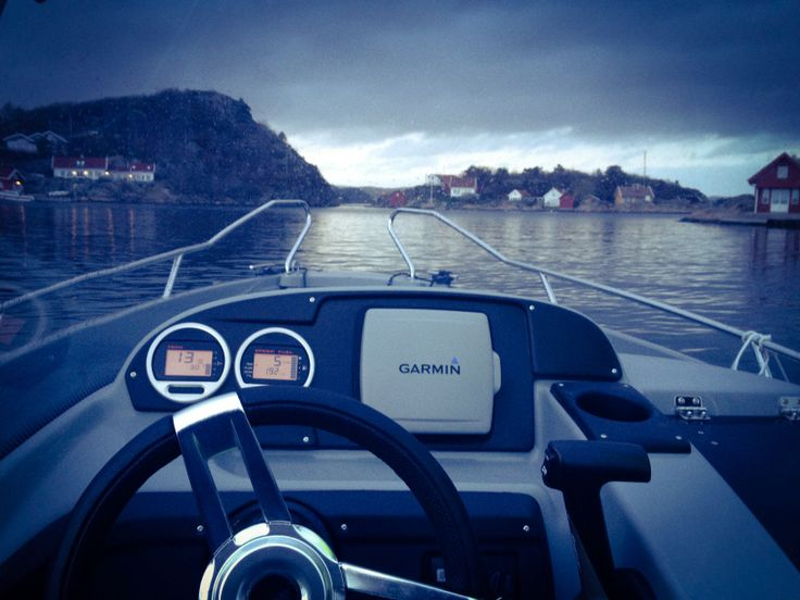 Out driving the boat ❤️