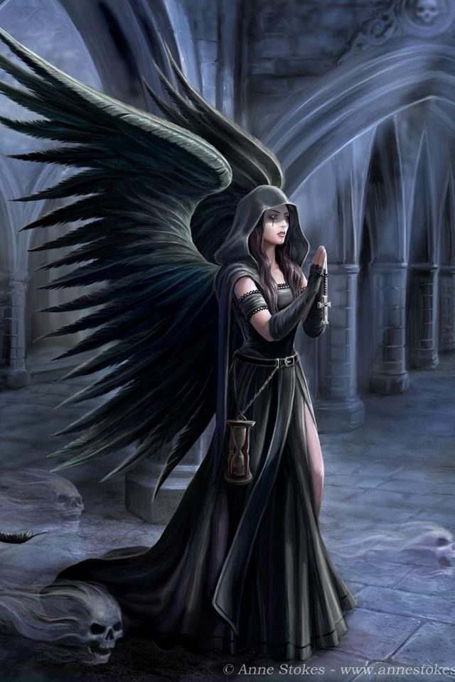 Anne Stokes ~ Harbringer                                                                                                                                                                                 More