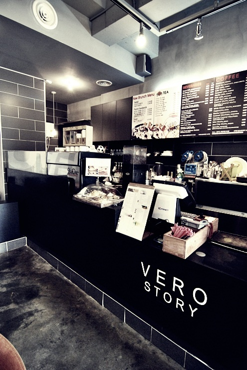 "korea cafe dedign ""vero story"" design by mercim"