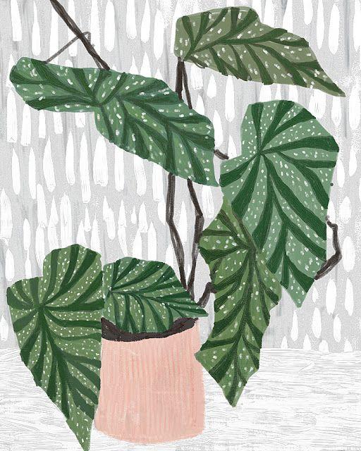 Pattern on Pattern by Ophelia Pang #illustration