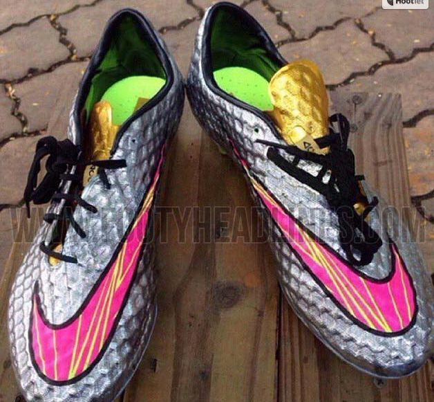 Nike diseña para Neymar una botas exclusivas, las Hypervenom Phantom