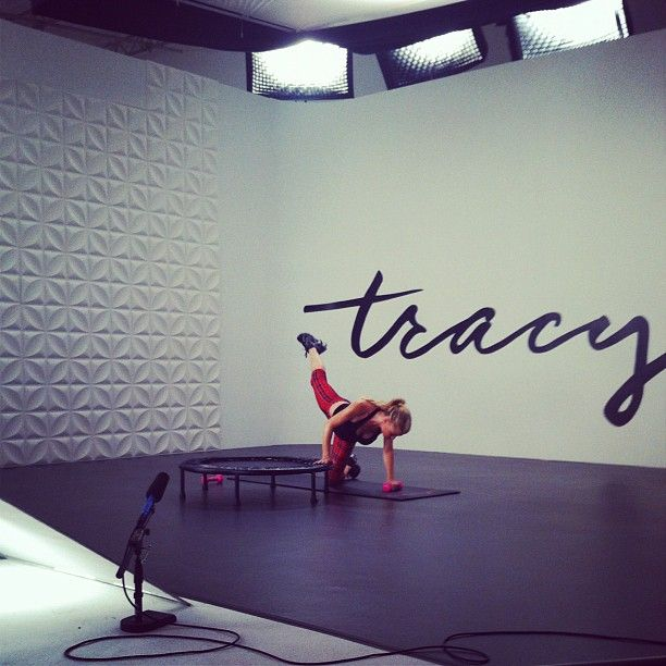 Tracy Anderson's Total Body Mini Trampoline Workout | Fitty