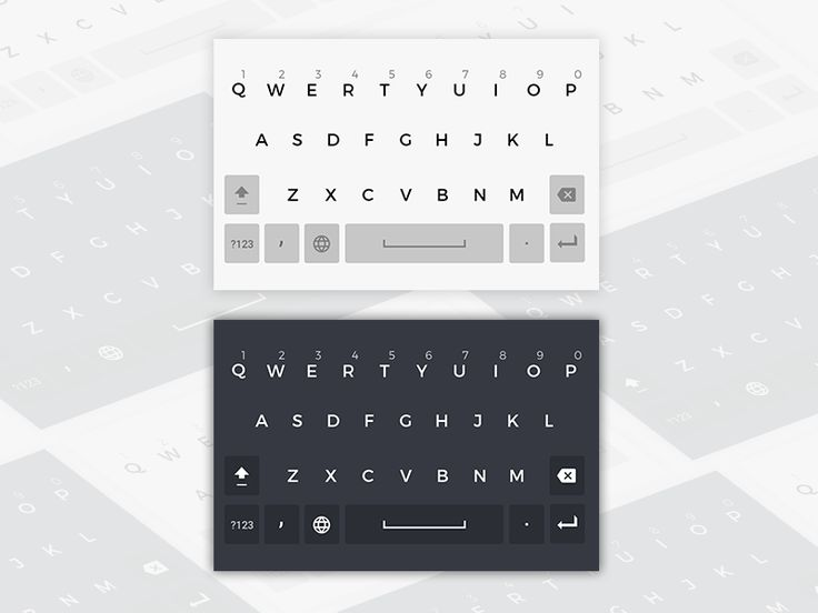Android keyboard layout by Shourav Chowdhury