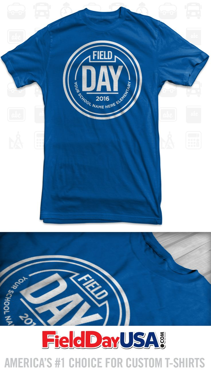 Shirt design images - Budget Event Field Day T Shirt Design Be16 09